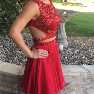 Sherri Hill size 2 two-piece dress